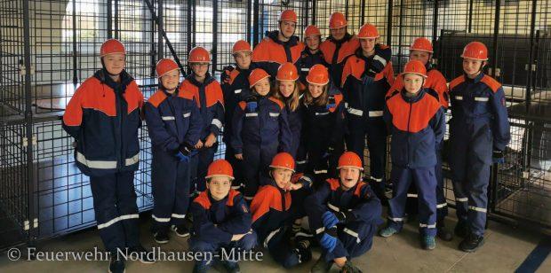 24 Stundendienst der Jugendfeuerwehr Nordhausen-Mitte