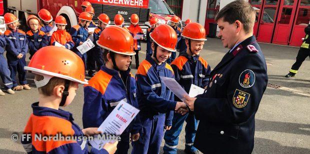 Leistungsabzeichen der Thüringer Feuerwehr für unsere Floriansjünger