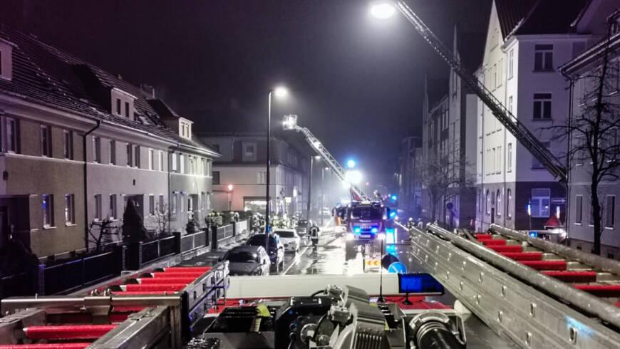Einsatz 10/2021 – Schornsteinbrand