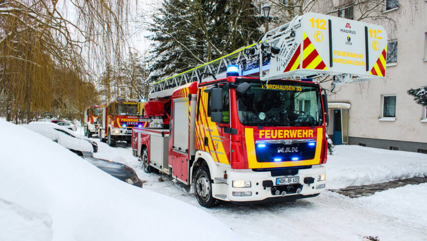 Einsatz 15/2021 – Ausgelöster HRM mit Brandgeruch