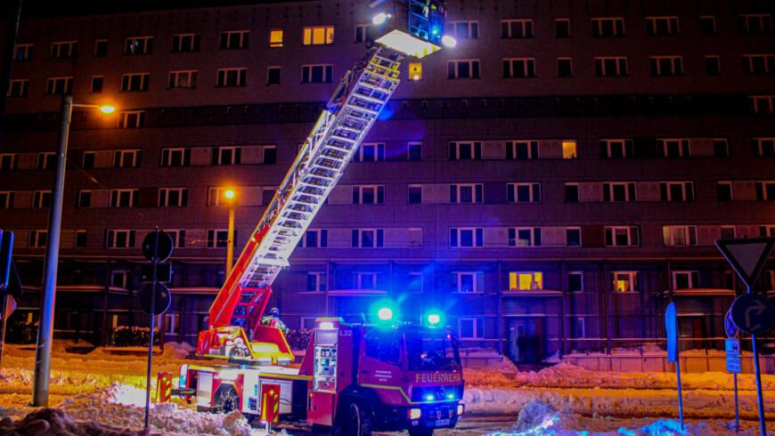 Einsatz 16/2021 – Rauch aus Wohnung