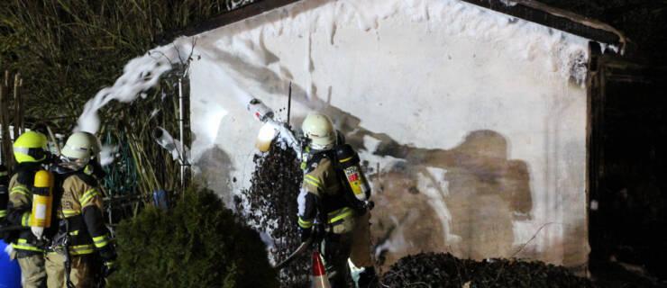 Einsatz 21/2021 – Gartenlaubenbrand